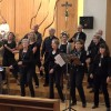 Gospelchor On The Way in performance in Herz Jesu 2015